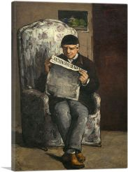 The Artist's Father Reading 1866