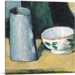 Bowl and Milk Jug 1873