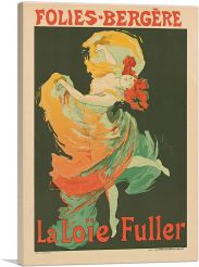 Loie Fuller at the Folies Bergere 1893