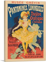 Pantomimes Lumineuses at the Musee Grevin 1892