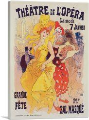 Theatre De L'Opera - Bal Masque 1899