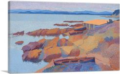 Coast Near Antibes 1892