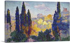 Cypresses at Cagnes 1908