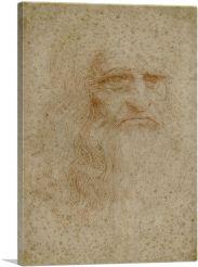Leonardo da Vinci Self-Portrait 1512