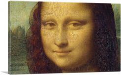 Mona Lisa - Face Detail 1503