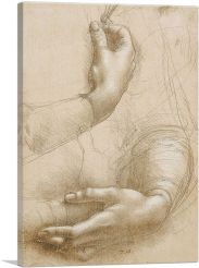 Study of a Woman's Hands 1490