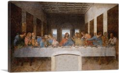 The Last Supper 1498-1-Panel-60x40x1.5 Thick