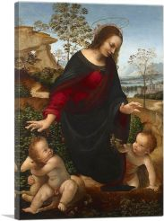 The Madonna and Child with the Infant Saint John the Baptist 1475