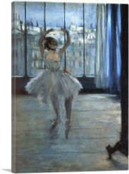 Dancer in Front of a Window 1877