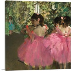 Dancers in Pink 1876