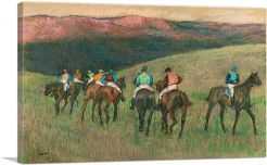 Racehorses in a Landscape 1894