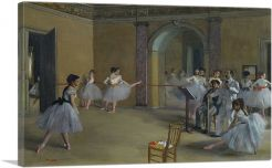 Rehearsal Hall at the Opera 1872