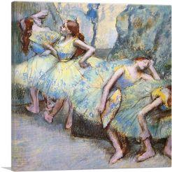 Ballet Dancers in the Wings 1900
