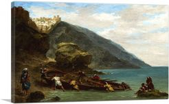 View of Tangier from the Seashore 1856