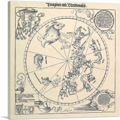 The Celestial Globe-Southern Hemisphere 1515