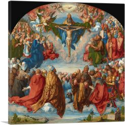 Adoration of the Trinity 1511-1-Panel-36x36x1.5 Thick