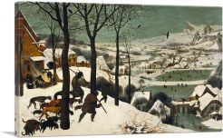 Hunters in the Snow 1565