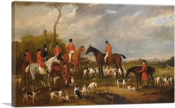 Sir Richard Sutton Bart and His Hounds