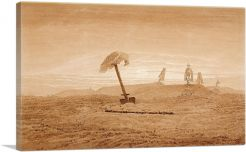 Landscape With Graves 1837