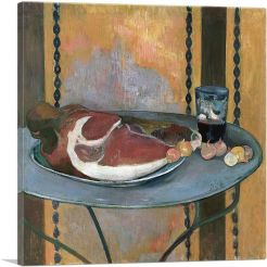 Still Life With Ham 1889