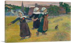 Breton Girls Dancing - Pont-Aven 1888