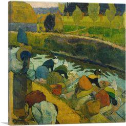 Washerwomen at the Roubine du Roi Arles 1888