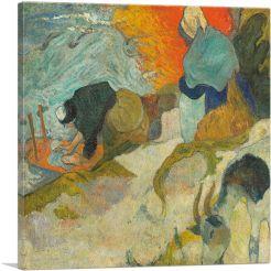 Washerwomen in Arles 1888