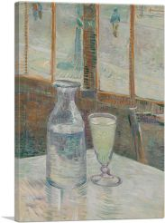 Cafe Table with Absinthe 1887