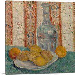 Carafe and Dish with Citrus Fruit in Paris 1887