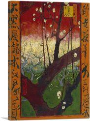 Flowering Plum Orchard 1887