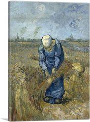 Peasant Woman Binding Sheaves 1889