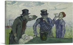 The Drinkers 1890-1-Panel-40x26x1.5 Thick