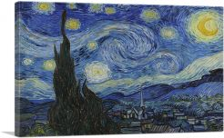 The Starry Night - Rectangle 1889