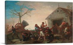 The Fight At The Venta Nueva 1777
