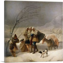 The Snowstorm - Winter 1787