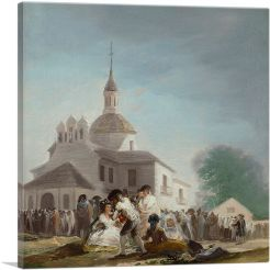 Pilgrimage to the Church of San Isidro 1788