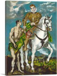 Saint Martin and the Beggar 1599