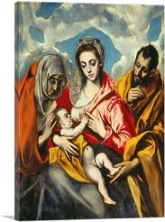 The Holy Family with Saint Anne 1595
