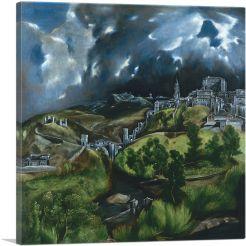 View of Toledo 1599