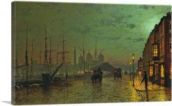 Prince's Dock Hull 1882-1-Panel-12x8x.75 Thick