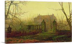 Autumn Morning-1-Panel-12x8x.75 Thick