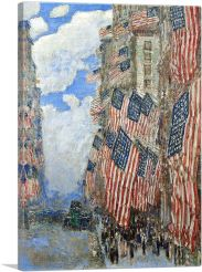 The Fourth Of July 1916-1-Panel-26x18x1.5 Thick