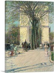 Washington Arch - Spring 1893
