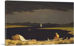 Approaching Thunderstorm 1859
