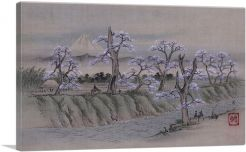 Riverbank at Koganei 1860