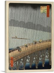 Sudden Shower at Ohashi Bridge 1857