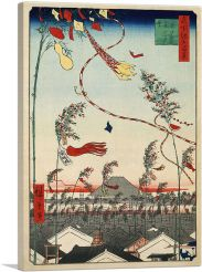 The City Flourishing - Tanabata Festival  1857-1-Panel-60x40x1.5 Thick