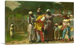 Preparing for Carnival in Virginia 1877