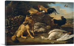 Still Life With Animals 1690