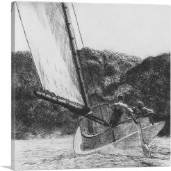 The Cat Boat 1922-1-Panel-26x26x.75 Thick